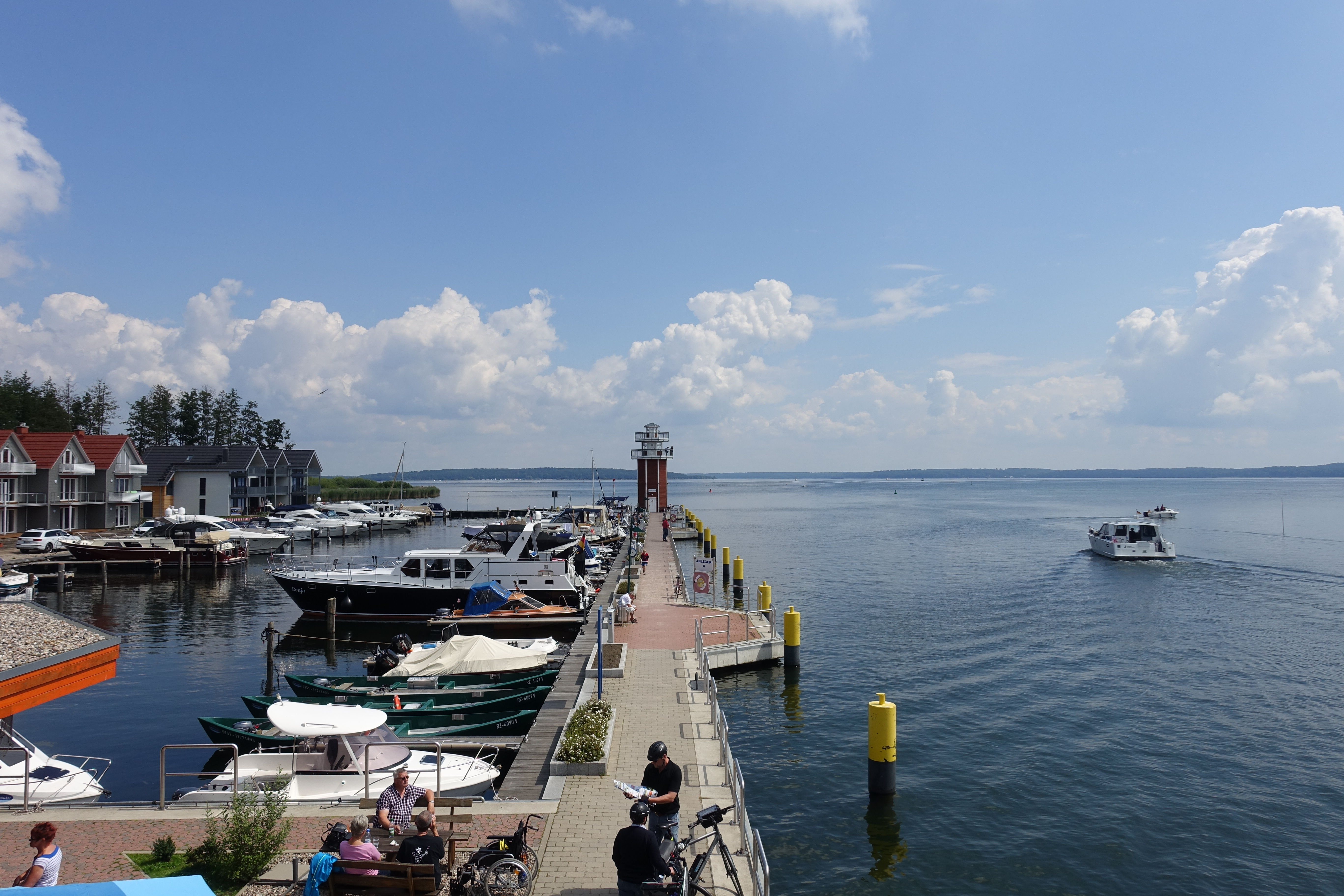 Der Leuchtturm in Plau am See