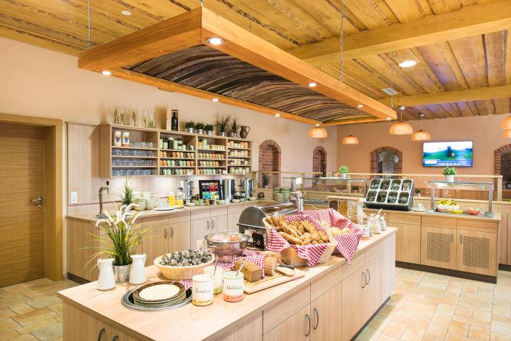 Frühstücksbuffet – hier startet der Tag gemütlich. (c) JUFA Hotels